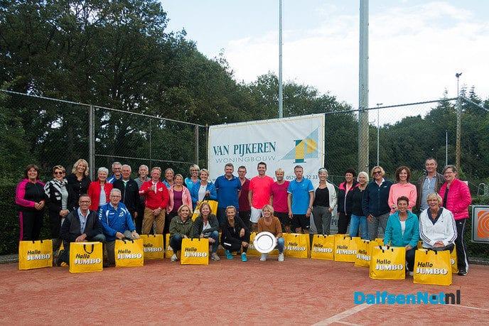 """Gelaagd """"van Pijkeren Woningbouw"""" tennistoernooi - Foto: Ingezonden foto"""