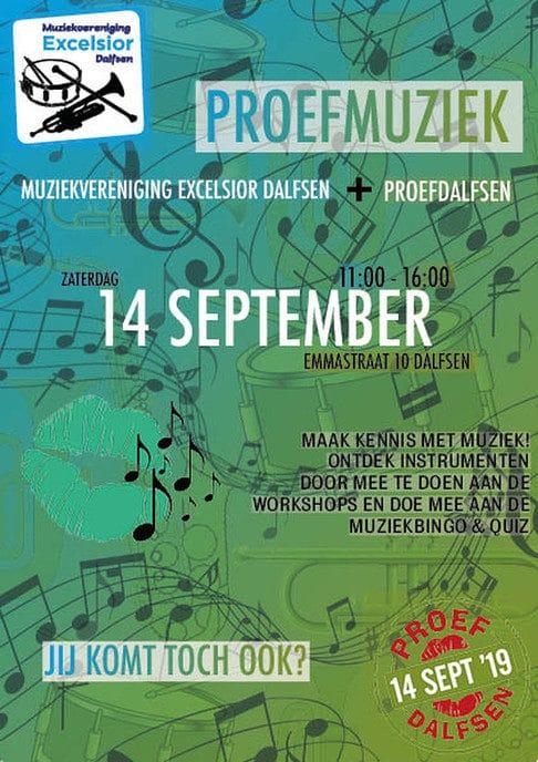 Proef Muziek tijdens Proef Dalfsen - Foto: eigen geleverde foto