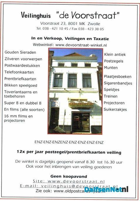 Veilinghuis de Voorstraat Zwolle - Foto: Ingezonden foto