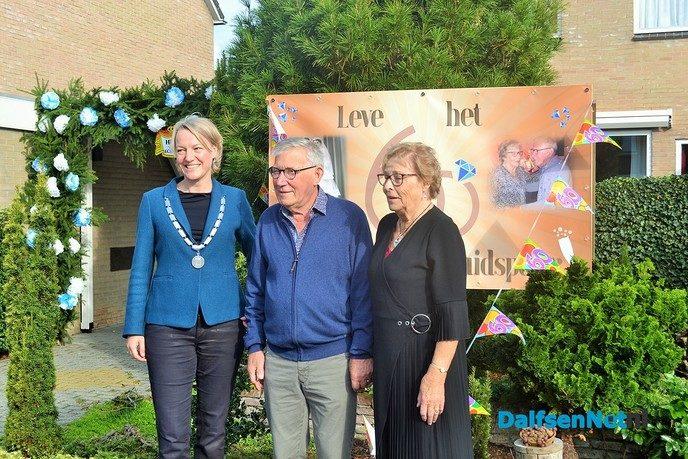 Henk en Greet Brandwacht 60 jaar getrouwd - Foto: Ingezonden foto