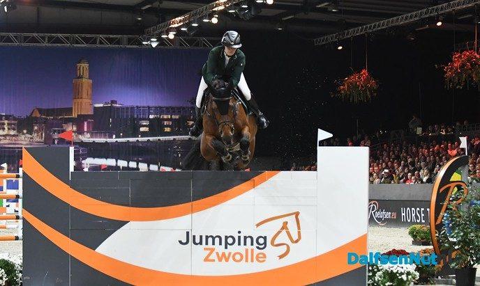 Jumping Zwolle-winnaar Remco Been: 'Hier doe je het voor' - Foto: Johan Bokma