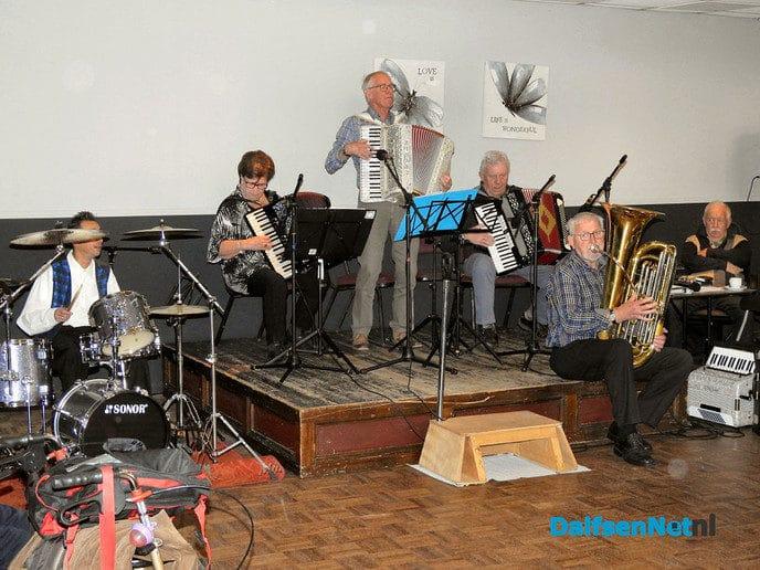Accordeon & harmonica dag bij Mansier. - Foto: H.G. Foto