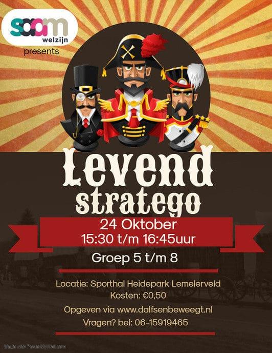 Levend stratego in  in Lemelerveld - Foto: eigen geleverde foto