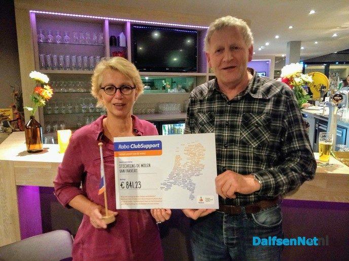 Rabo Clubsupport actie succes voor Molen van Fakkert - Foto: Ingezonden foto