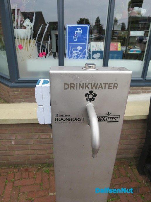 Stroom en water is gratis in Hoonhorst - Foto: Wim