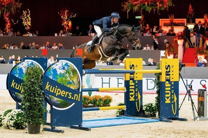Topsport enveilingpaarden op vrijdag van Jumping Zwolle - Foto: Ingezonden foto