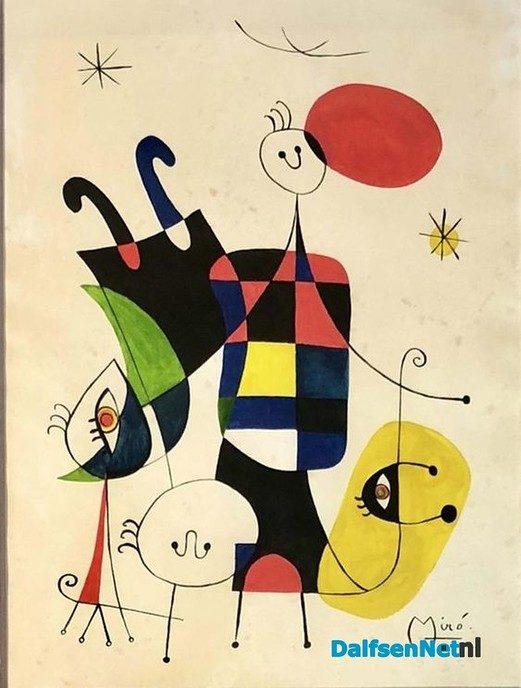 In de geest van Miro - Foto: Ingezonden foto