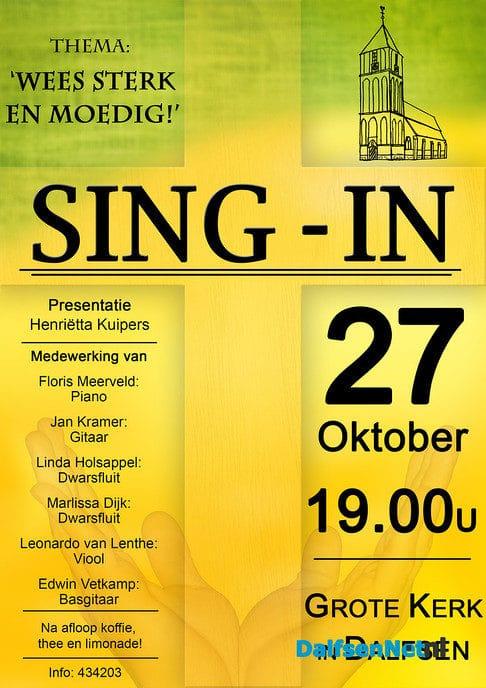 Sing-in Grote Kerk - Foto: Ingezonden foto