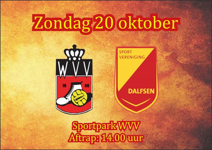 SV Dalfsen op bezoek bij WVV Winschoten - Foto: Ingezonden foto