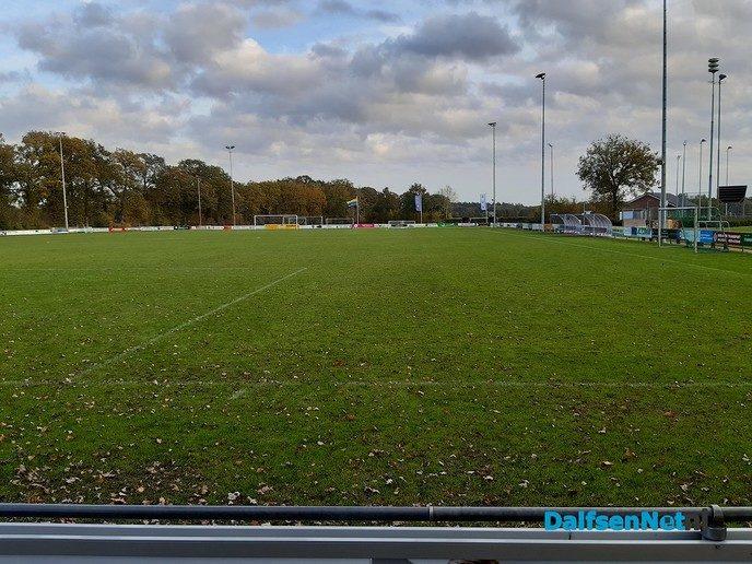 D66 over Hybrideveld V.V. Hoonhorst - Foto: Ingezonden foto