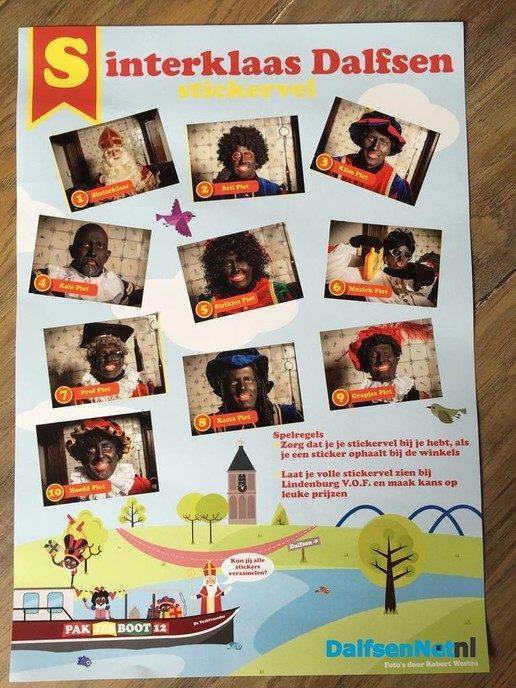 Sint en Piet plaatjes actie van Ondernemend Dalfsen! - Foto: Ingezonden foto