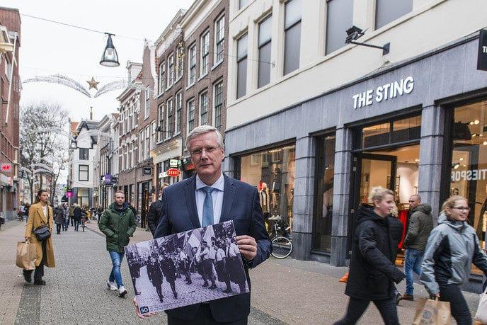 Aftrap Andries Heidema WO2 in 50 foto's - Foto: eigen geleverde foto