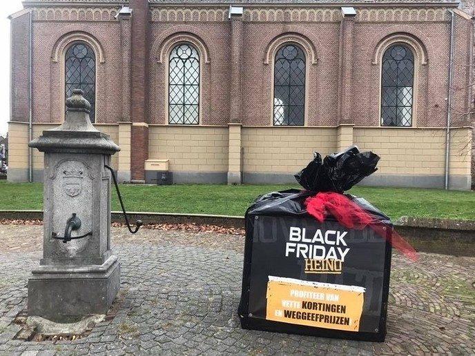 Leuke actie Heinose ondernemers vrijdag: Black Friday - Foto: eigen geleverde foto