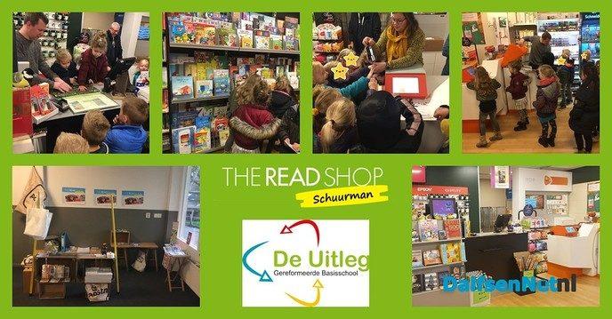De Uitleg op bezoek bij The Read Shop Schuurman - Foto: Ingezonden foto