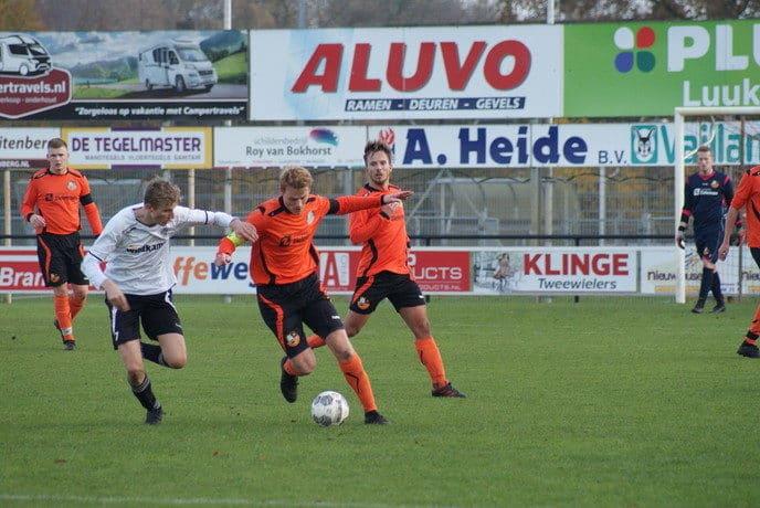 S.V. Nieuwleusen en S.C. Lutten  2 – 2 - Foto: eigen geleverde foto
