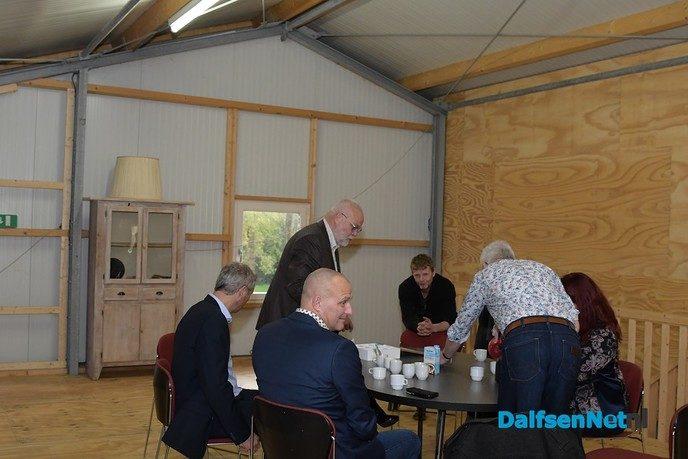 Het college bezoekt zorgboerderij Het Ruitenveen - Foto: Johan Bokma