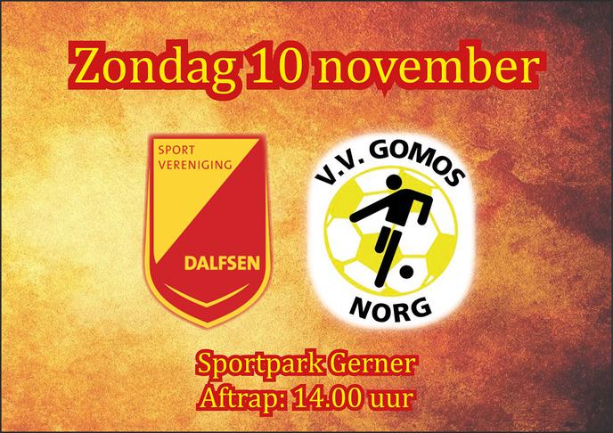 Voorbeschouwing SV Dalfsen – VV Gomos - Foto: Ingezonden foto