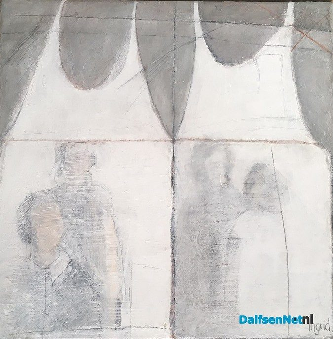 Expositie Ingrid Mertens in Molen van Fakkert - Foto: Ingezonden foto