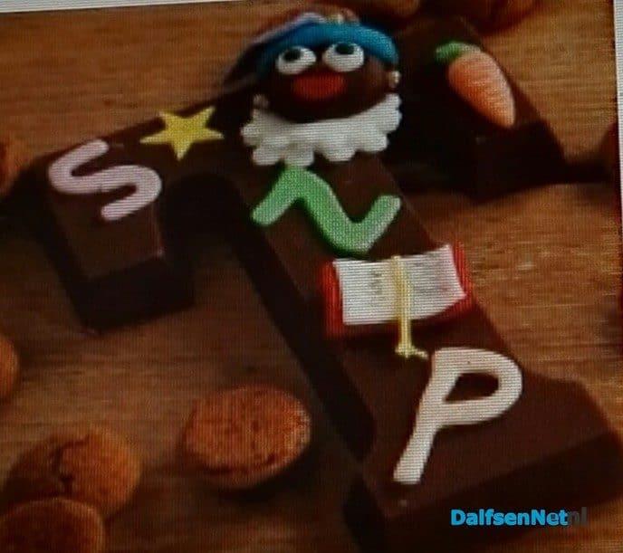 Chocoladeletter versieren of Pietjes maken - Foto: Ingezonden foto