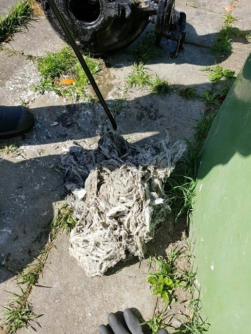 Riool nog teveel dumpplaats van doekjes - Foto: eigen geleverde foto