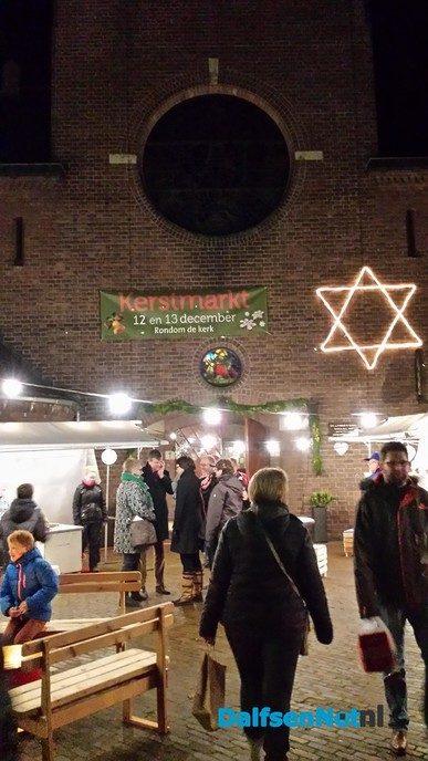 Kerstmarkt Katholieke kerk Dalfsen 2019 - Foto: Ingezonden foto