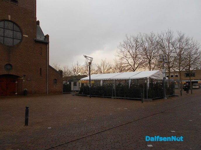 Kerstboomverkopers SVD na 5 dec. weer in actie