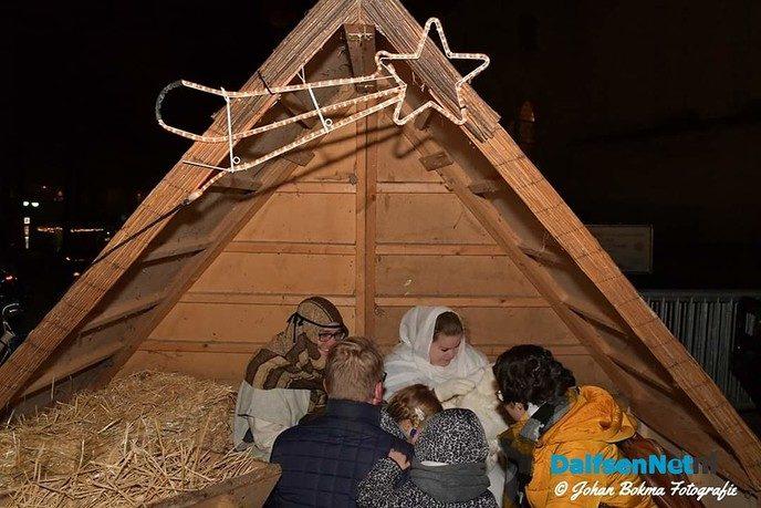 Levende Kerststal op Dalfser Kerstfestijn - Foto: Ingezonden foto