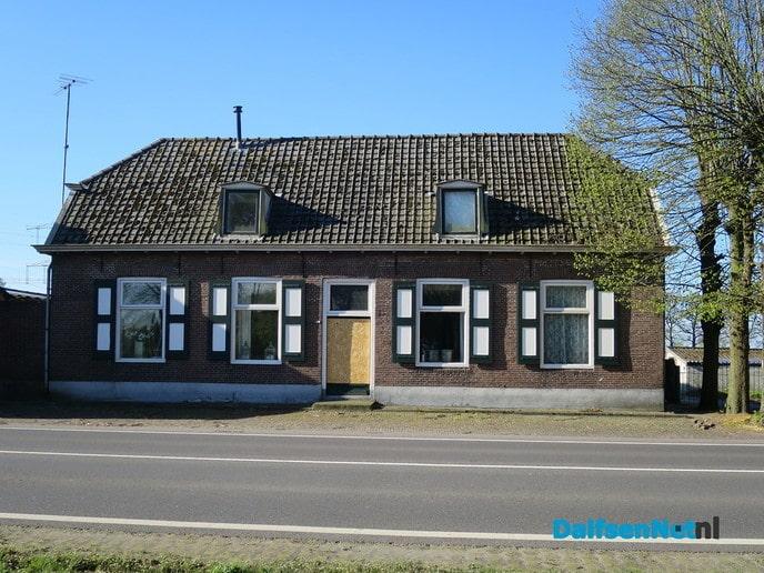 De weg van Zwolle naar Dalfsen rond 1900, zuidzijde - Foto: Wim