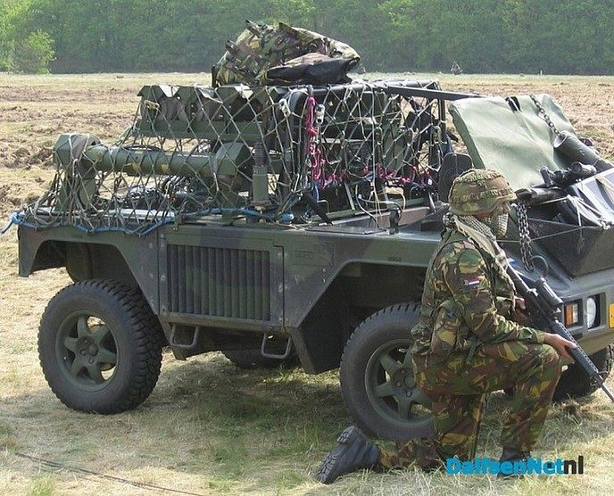 Volgende week Militaire oefening in en rond Dalfsen