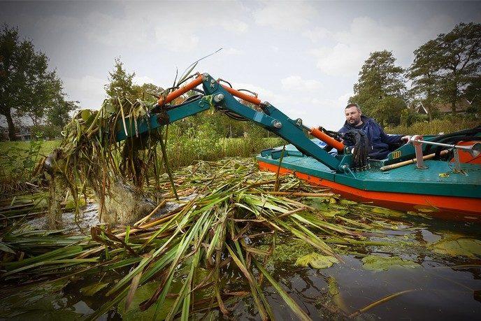 Waterwegen en plassen klaar voor de winter - Foto: eigen geleverde foto