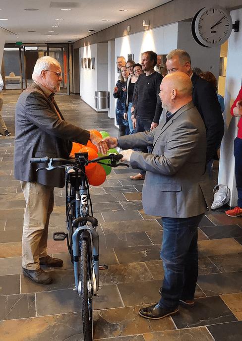 De gemeente Dalfsen wint e-bike - Foto: Gemeente Dalfsen