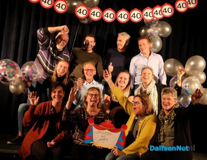 Toneelgroep Sagezo viert 40-jarig jubileum - Foto: Ingezonden foto