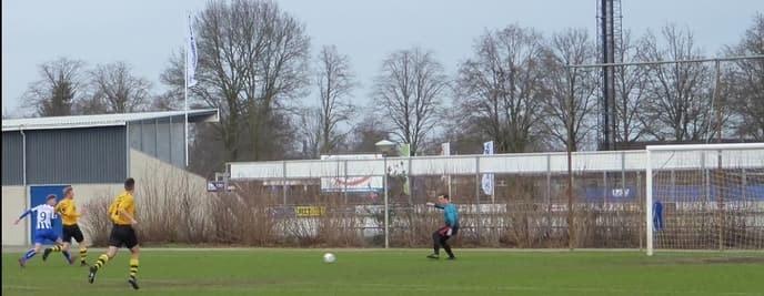 USV wint oefenduel van FC Wolvega - Foto: eigen geleverde foto