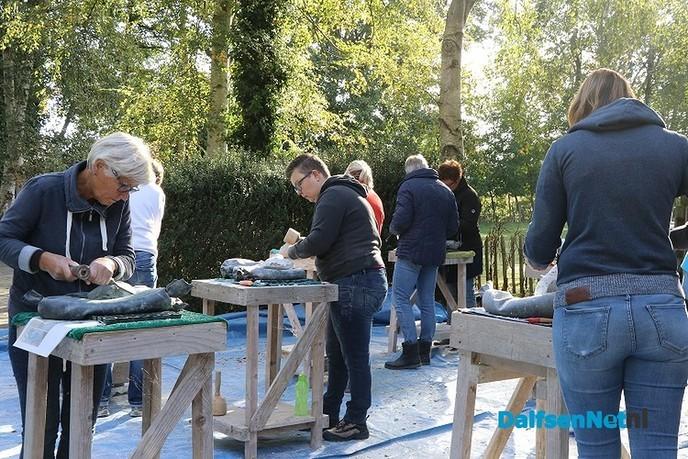 Workshops beeldhouwen - Foto: Ingezonden foto