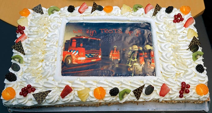 Koninklijke onderscheiding brandweerman - Foto: Paul Scholten