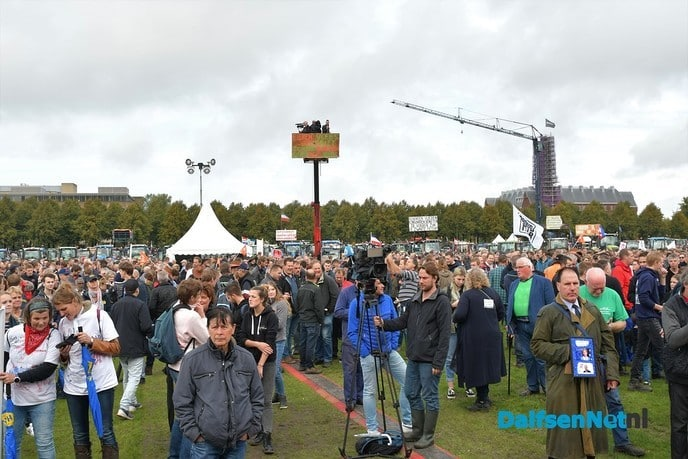 Boeren gaan 19 februari opnieuw te demonstreren - Foto: Johan Bokma