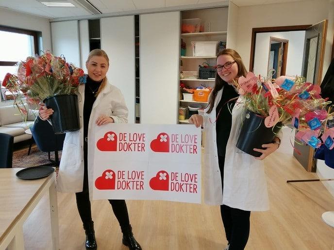 """""""Love dokters"""" bij Agnieten College - Foto: eigen geleverde foto"""