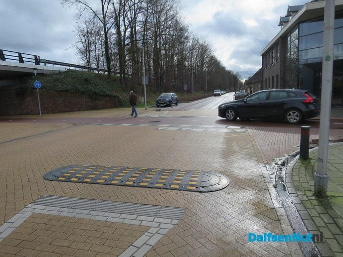 Gevaarlijke Fietsstraat oversteek Lemelerveld - Foto: Wim