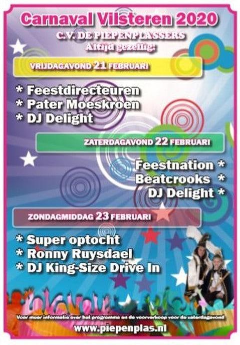 Carnaval is aanstaande in het Piepenplasdorp