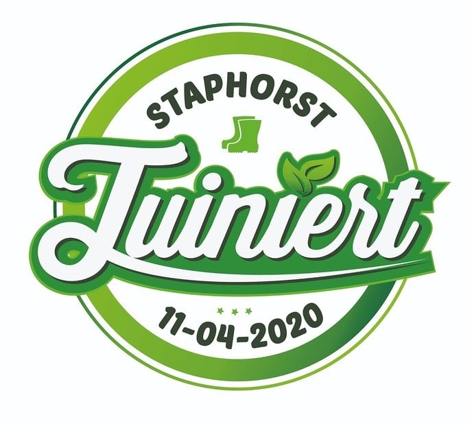 Staphorst Tuiniert zaterdag 11 april - Foto: Ingezonden foto