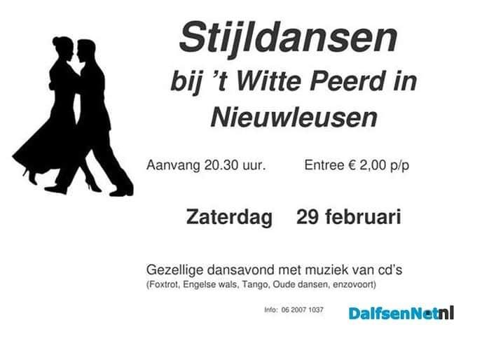 Dansen in Nieuwleusen - Foto: Ingezonden foto