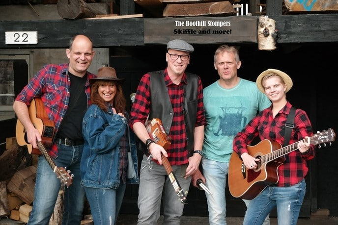 The Boothill Stompers skiffle-, blues- en Americana band in Dalfsen - Foto: eigen geleverde foto