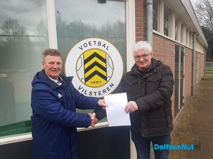 Trainer Dik Runherd Verlengt contract - Foto: Ingezonden foto