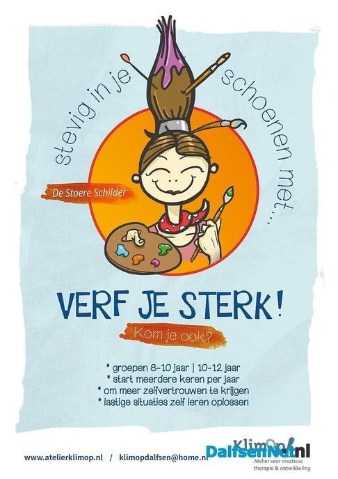 Start Verf je Sterk! groep voor kinderen 8-10 jaar - Foto: Ingezonden foto