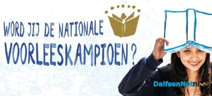 Voorleeskampioen Noord-Oost Overijssel - Foto: Ingezonden foto