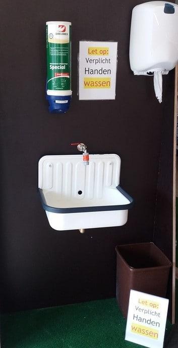Je hoeft daar niet in bad - Foto: Ingezonden foto