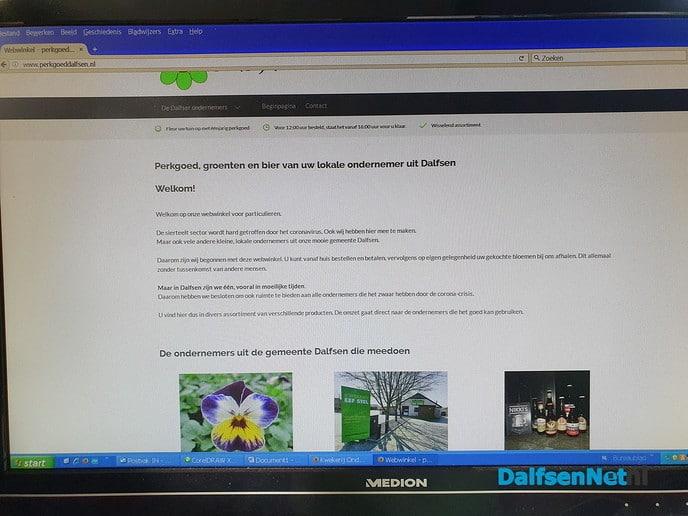 Webwinkel linkt lokale ondernemer en consument in afstandelijke tijd - Foto: Ingezonden foto