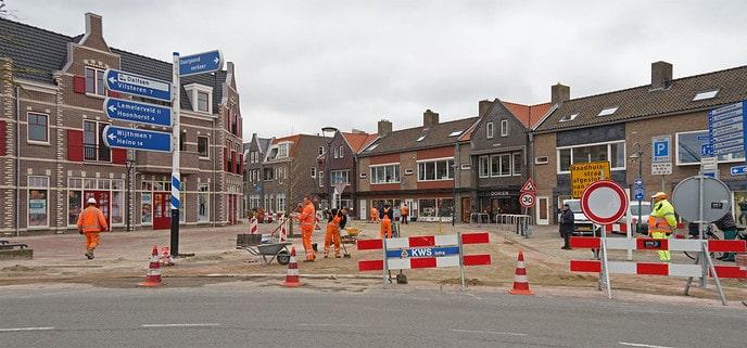 Raadhuisstraat bijna klaar - Foto: Paul Scholten