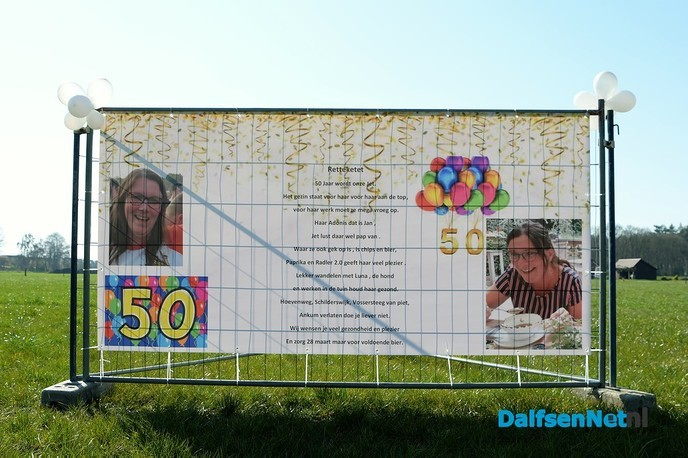 Het is eerlijk waar Henriëtte wordt vandaag 50 jaar - Foto: Johan Bokma