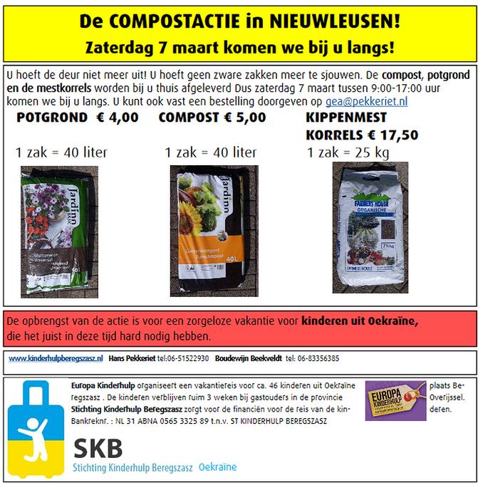 Compostactie SKB Oekraïne Nieuwleusen